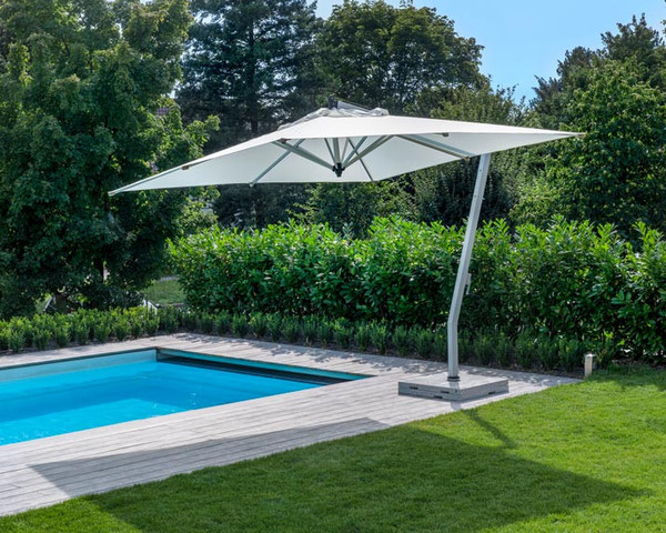 Woodline parasol Sunset Flex aluminium with crank