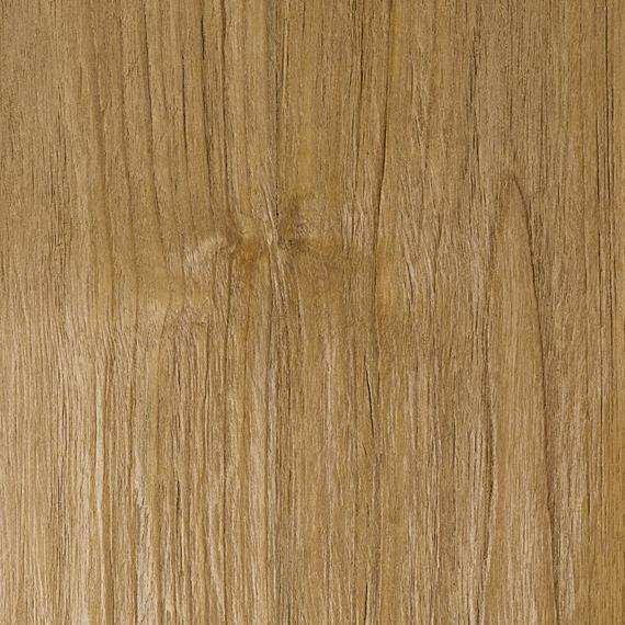 Rio table 95x95cm, frame: aluminium white matt textured coating, square table legs, tabletop: Vintage teak