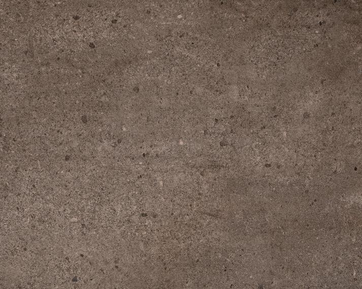 Rio table 95x95cm, frame: aluminium white matt textured coating, square table legs, tabletop: fm-ceramtop Paros tabacco