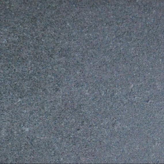Rio table 95x95cm, frame: aluminium white matt textured coating, oval table legs, tabletop: fm-ceramtop Lava nero