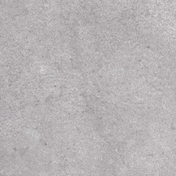 Rio table 95x95cm, frame: aluminium white matt textured coating, oval table legs, tabletop: fm-ceramtop Paros natural