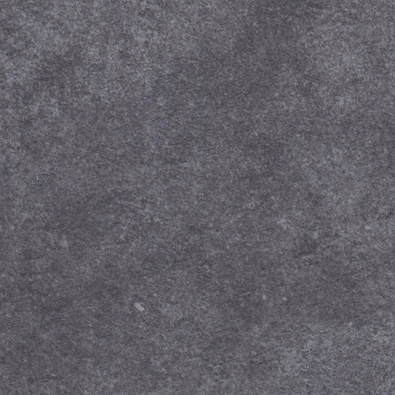 Rio table 95x95cm, frame: aluminium white matt textured coating, oval table legs, tabletop: fm-ceramtop Paros shadow