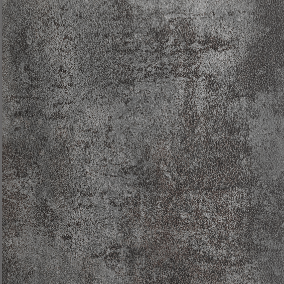 Taku bistro table 80x80cm, frame: stainless steel white matt textured coating, tabletop: fm-ceramtop oxyd anthracite