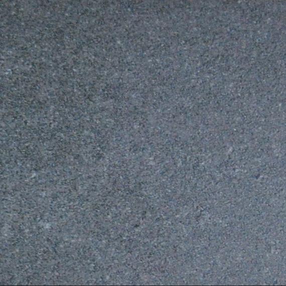 Taku bistro table round 68 cm, frame: stainless steel white matt textured coating, tabletop: fm-ceramtop Lava nero