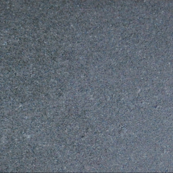 Taku bistro table round 80 cm, frame: stainless steel white matt textured coating, tabletop: fm-ceramtop Lava nero