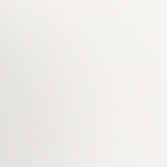 Taku bistro table 80x80cm, hinged, frame: stainless steel white matt textured coating, tabletop: fm-laminat spezial white