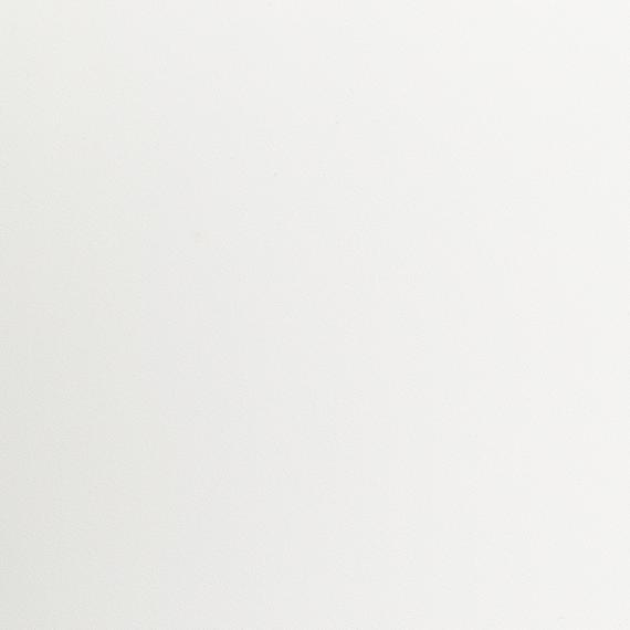 Taku bistro table round 68cm, frame: stainless steel white matt textured coating, tabletop: fm-laminat spezial white