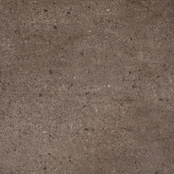 Taku bistro table round 80cm, frame: stainless steel white matt textured coating, tabletop: fm-ceramtop Paros tabacco