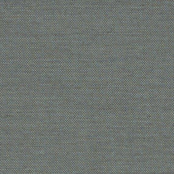Flora Lounge linksbündig mit Teakleisten, Untergestell in Edelstahl anthrazit matt Strukturlack, Hochwertige Polsterung mit flexiblen Federleisten, Plattform 100x231 cm, Sitz- und Rückenkissen aus Outdoor – Stoffen 10040 Sunbrella® Natte Nature Grey