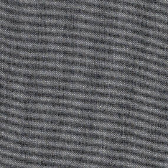 Flora Lounge linksbündig mit fm-laminat spezial graphito, Untergestell in Edelstahl anthrazit matt Strukturlack, Hochwertige Polsterung mit flexiblen Federleisten, Plattform 100x231 cm, Sitz- und Rückenkissen aus Outdoor – Stoffen 10063 Sunbrella® Natte Charcoal Chine