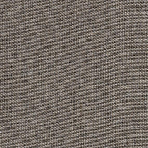 Flora Lounge linksbündig mit fm-laminat spezial graphito, Untergestell in Edelstahl anthrazit matt Strukturlack, Hochwertige Polsterung mit flexiblen Federleisten, Plattform 100x231 cm, Sitz- und Rückenkissen aus Outdoor – Stoffen 10065 Sunbrella® Natte Carbon Beige