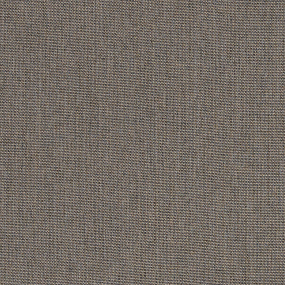 Flora Lounge linksbündig mit fm-laminat spezial Titan, Untergestell in Edelstahl anthrazit matt Strukturlack, Hochwertige Polsterung mit flexiblen Federleisten, Plattform 100x231 cm, Sitz- und Rückenkissen aus Outdoor – Stoffen 10065 Sunbrella® Natte Carbon Beige