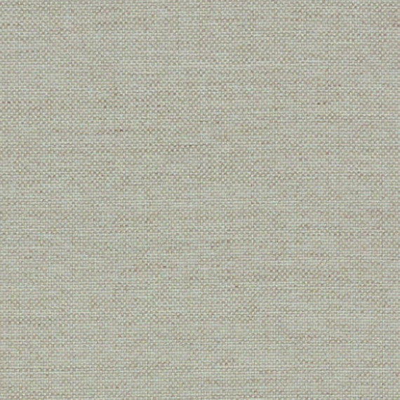 Flora Lounge rechtsbündig mit fm-laminat spezial Titan, Untergestell in Edelstahl anthrazit matt Strukturlack, Hochwertige Polsterung mit flexiblen Federleisten, Plattform 100x231 cm, Sitz- und Rückenkissen aus Outdoor – Stoffen 10151 Sunbrella® Natte Linen Chalk