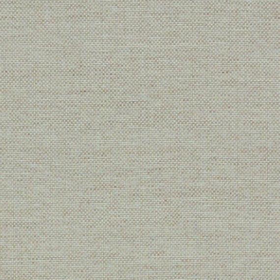 Flora Lounge linksbündig mit fm-laminat spezial graphito, Untergestell in Edelstahl anthrazit matt Strukturlack, Hochwertige Polsterung mit flexiblen Federleisten, Plattform 100x231 cm, Sitz- und Rückenkissen aus Outdoor – Stoffen 10151 Sunbrella® Natte Linen Chalk