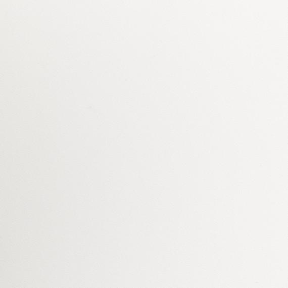 Taku bistro table round 115cm, frame: stainless steel, table top: fm-laminat spezial white