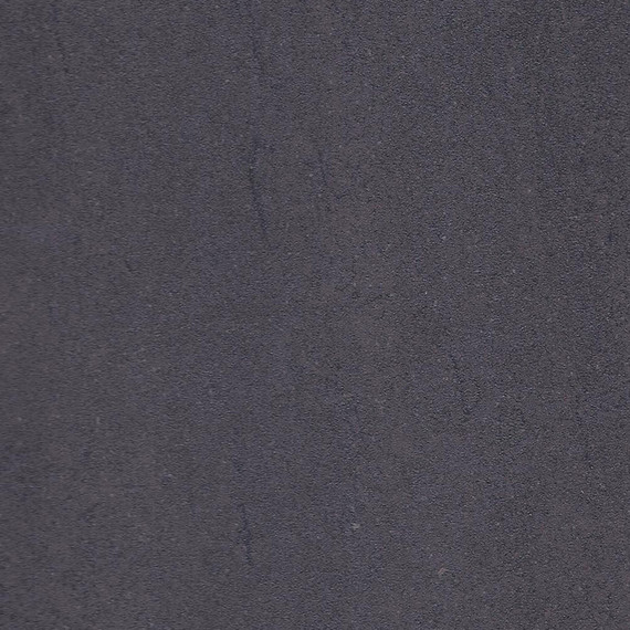 Taku bistro table round 115cm, frame: stainless steel white matt textured coating, tabletop: fm-cermatop lava nero