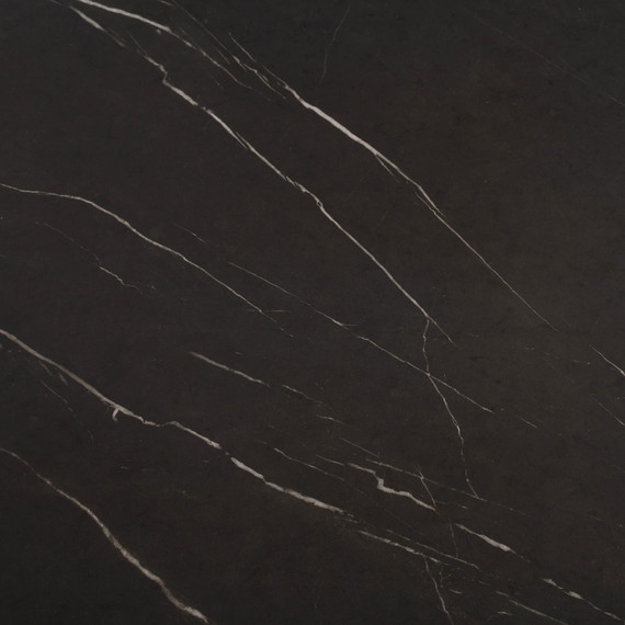 Taku bistro table round 132cm, frame: stainless steel white matt textured coating, tabletop: fm-cermatop Stella