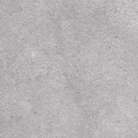 Taku bistro table round 100cm, frame: stainless steel white matt textured coating, tabletop: fm-ceramtop Paros natural