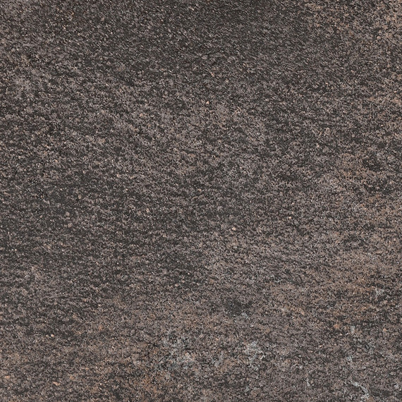 Taku bar table round 68cm, frame: stainless steel anthracite matt textured coating, tabletop: fm-laminat spezial Titan