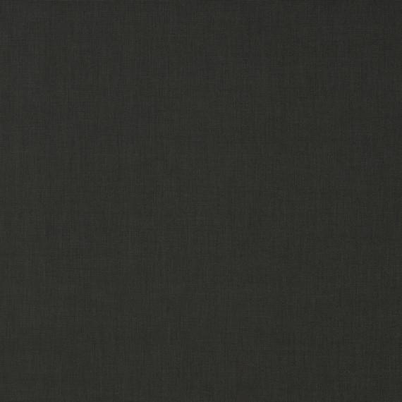 Flora Lounge linksbündig mit Teakleisten, Untergestell in Edelstahl anthrazit matt Strukturlack, Hochwertige Polsterung mit flexiblen Federleisten, Plattform 100x231 cm, Sitz- und Rückenkissen aus Outdoor – Stoffen 3705 Sunbrella® Solid Charcoal