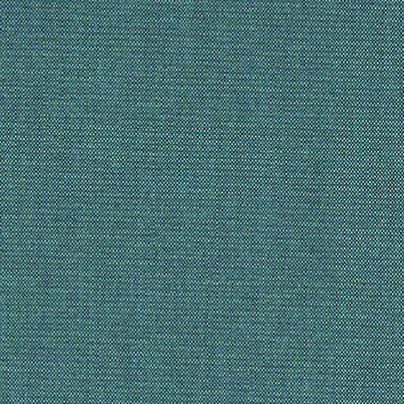 Flora Lounge Mittelposition mit Teakleisten, Untergestell in Edelstahl anthrazit matt Strukturlack, Hochwertige Polsterung mit flexiblen Federleisten, Plattform 100x231 cm, Sitz- und Rückenkissen aus Outdoor – Stoffen B113 Sunbrella® Relax Storm