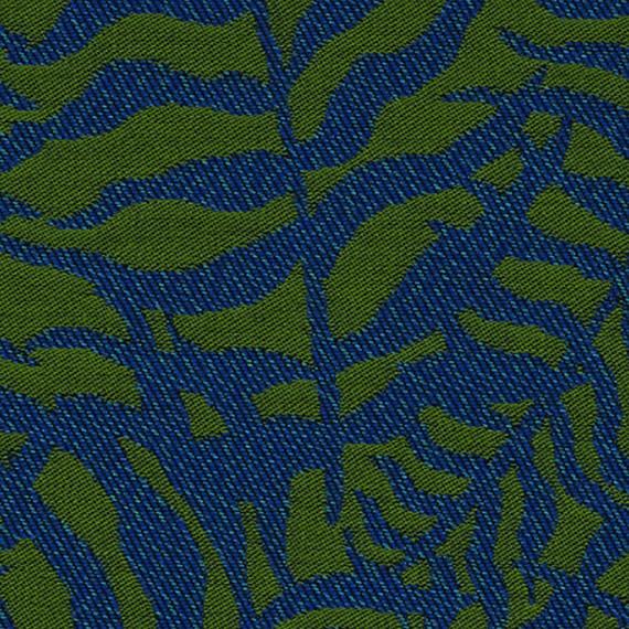 Flora Lounge Mittelposition mit fm-laminat spezial graphito, Untergestell in Edelstahl anthrazit matt Strukturlack, Hochwertige Polsterung mit flexiblen Federleisten, Plattform 100x231 cm, Sitz- und Rückenkissen aus Outdoor – Stoffen J331 Sunbrella® Ikebana Bayou