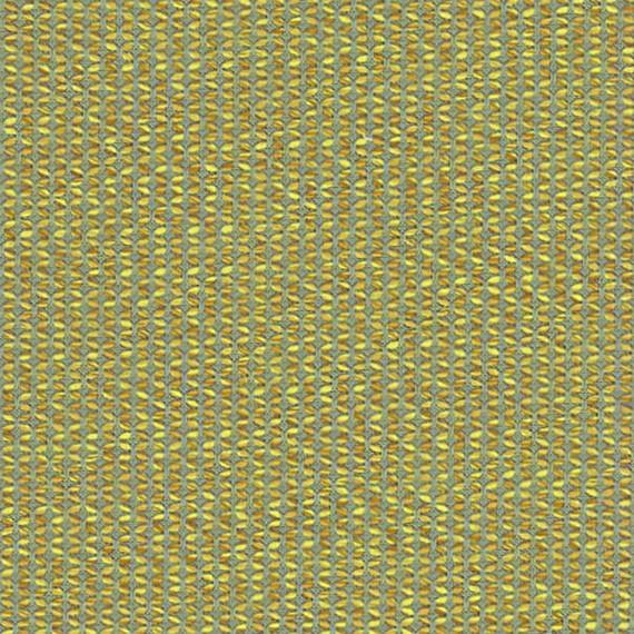 Flora Lounge Mittelposition mit Teakleisten, Untergestell in Edelstahl anthrazit matt Strukturlack, Hochwertige Polsterung mit flexiblen Federleisten, Plattform 100x231 cm, Sitz- und Rückenkissen aus Outdoor – Stoffen J338 Sunbrella® Majestic Citrine