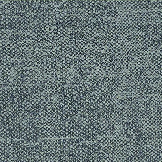 Flora Lounge linksbündig mit fm-laminat spezial Titan, Untergestell in Edelstahl anthrazit matt Strukturlack, Hochwertige Polsterung mit flexiblen Federleisten, Plattform 100x231 cm, Sitz- und Rückenkissen aus Outdoor – Stoffen J348 Sunbrella® Chartes Drizzle