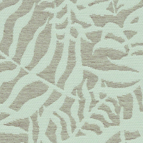 Flora Lounge rechtsbündig mit Teakleisten, Untergestell in Edelstahl anthrazit matt Strukturlack, Hochwertige Polsterung mit flexiblen Federleisten, Plattform 100x231 cm, Sitz- und Rückenkissen aus Outdoor – Stoffen J369 Sunbrella® Ikebana Uyuni