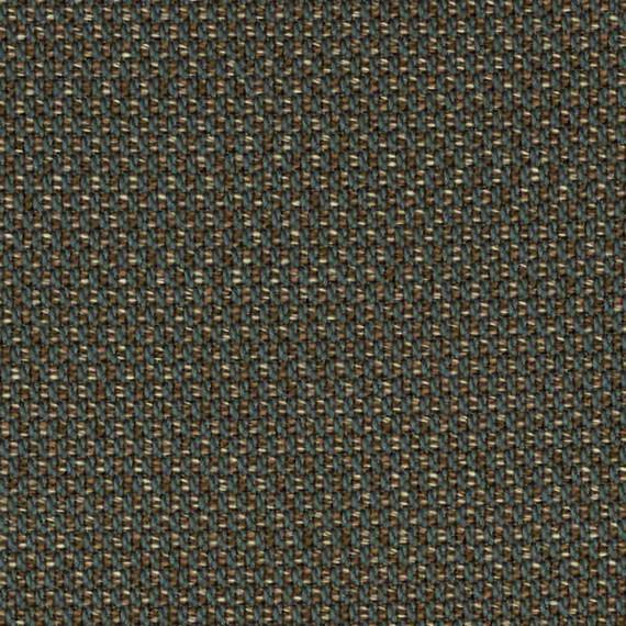 Flora Lounge Mittelposition mit fm-laminat spezial Titan, Untergestell in Edelstahl anthrazit matt Strukturlack, Hochwertige Polsterung mit flexiblen Federleisten, Plattform 100x231 cm, Sitz- und Rückenkissen aus Outdoor – Stoffen R014 Sunbrella® Lopi Coconut