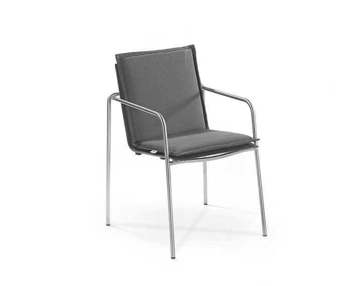 Cushion armchair Taku, seat + back