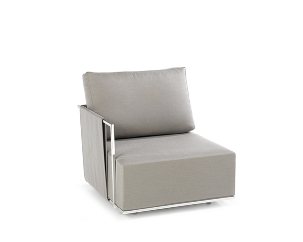 Suite corner module with armrest right