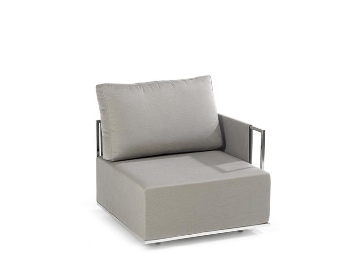 Suite corner module with armrest left