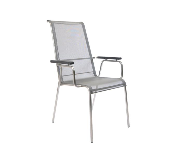Modena high back armchair, adjustable