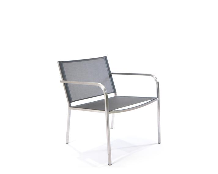 Helix lounge armchair