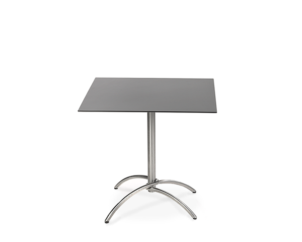 Taku bistro table frame stainless steel, hinged