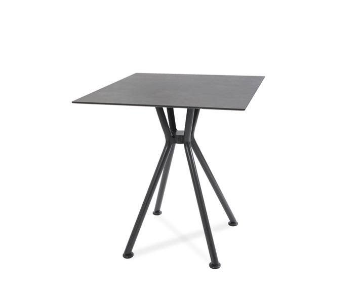 Lodge/Nizza bistro table, frame anthracite