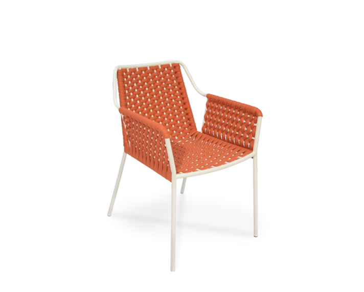 Teso armchair red