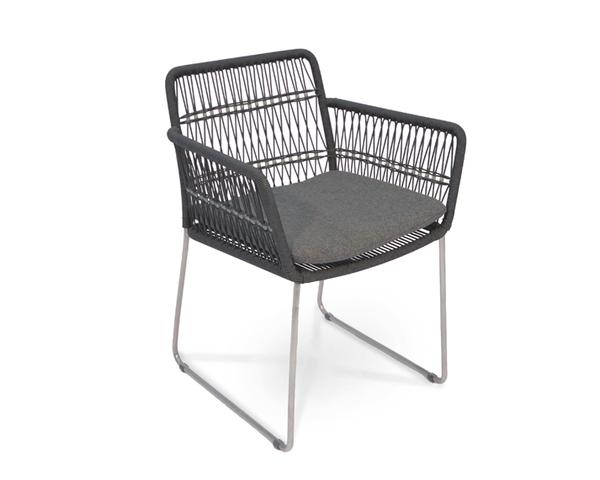 Filo armchair seat cushion