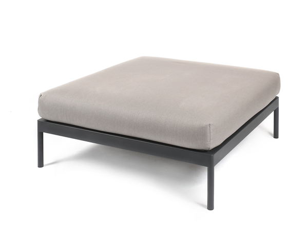 Kairos Lounge seating element 100x100 cm with upholstery
