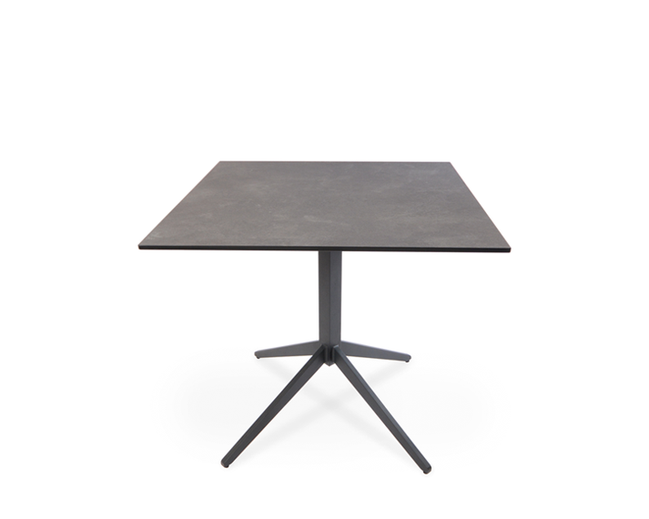 Atlantic bistro table, frame aluminium anthracite matt textured coated