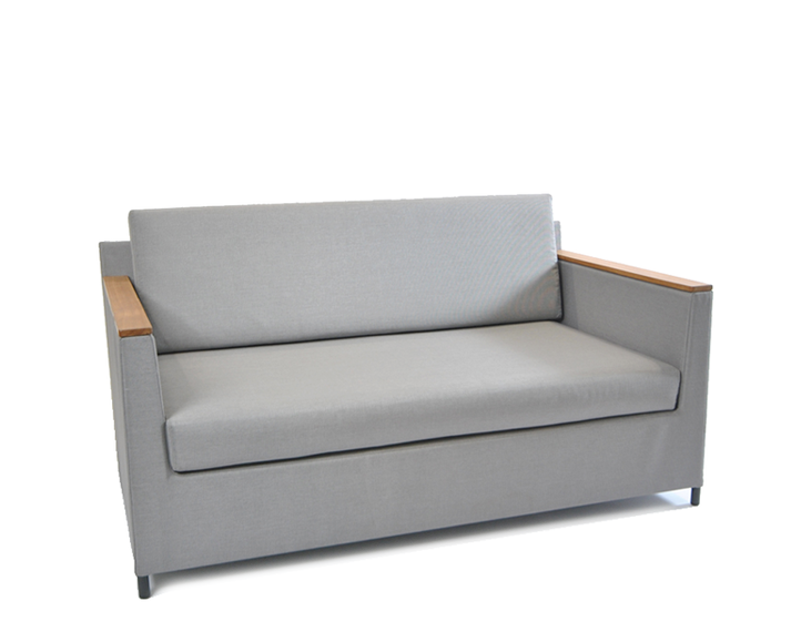 Rio Lounge Sofa 150x85cm, inkl. Sitz- und Rückenpolster