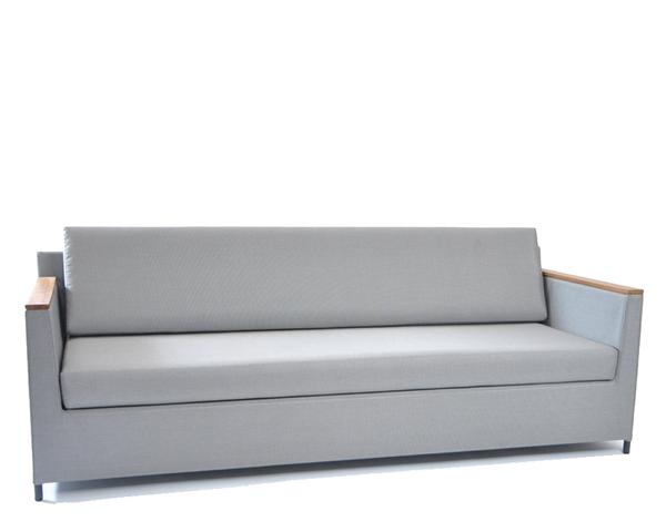 Rio lounge sofa 210x85cm incl. seat and back cushions