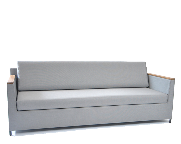 Rio lounge sofa 210x85cm incl. seat and back cushions