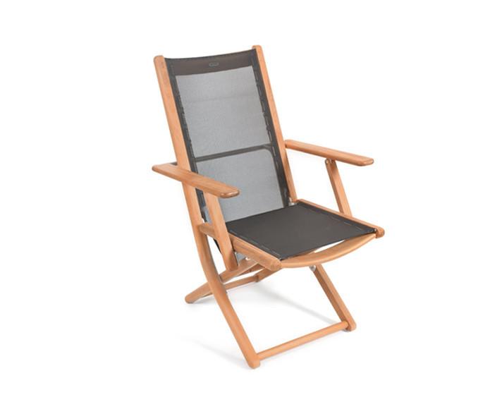Tennis armchair, adjustable