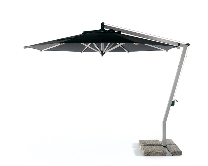 Woodline Schirm Sunset Flex Aluminium mit Kurbel