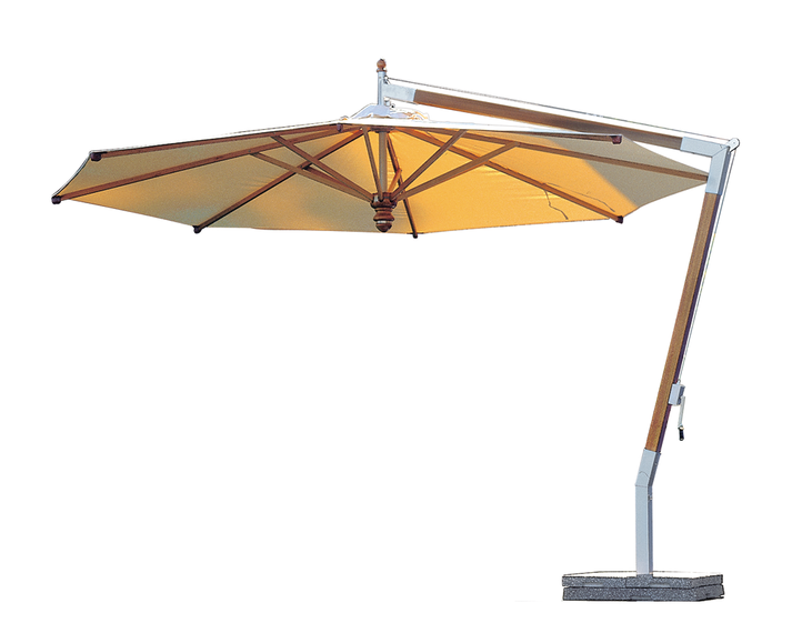 Woodline free-arm parasol Pendulum, wood