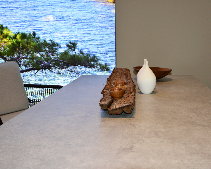 Filo Sessel mit Rio Tisch