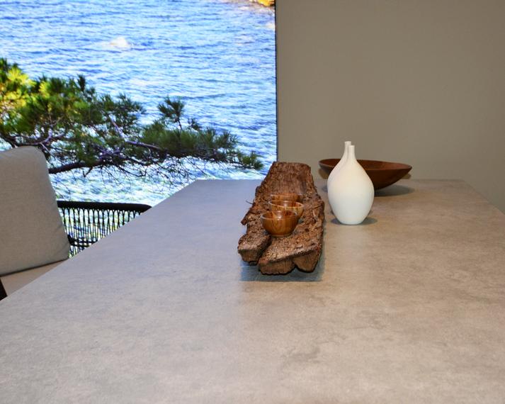 Filo armchair with Rio table